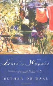 Lost in Wonder: Rediscovering the Spiritual Art of Attentiveness