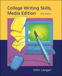 COLLEGE WRITING SKILLS, MEDIA EDITION