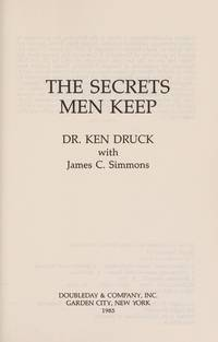 *Signed* Secrets Men Keep by  James C  Ken; Simmons - Hardcover - Signed - 1985-10-01 - from A Castle of Books and Biblio.com