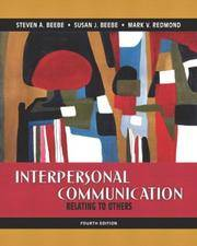 image of Interpersonal Communication: Relating to Others, 4th
