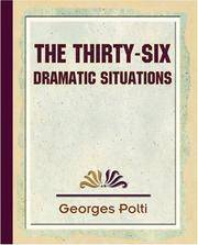 image of The Thirty Six Dramatic Situations - 1917