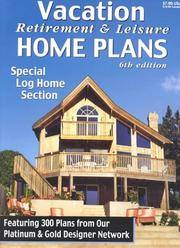 image of Vacation Retirement & Leisure Home Plans 6th Ed