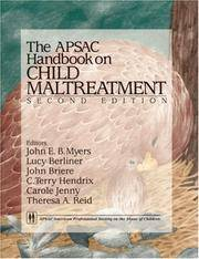 APSAC Handbook on Child Maltreatment