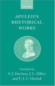 image of Apuleius: Rhetorical Works