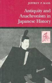 image of Antiquity and Anachronism in Japanese History