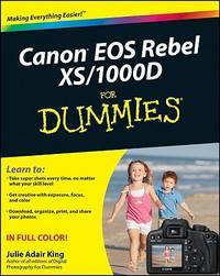 Canon Eos Rebel Xs1000d For Dummies