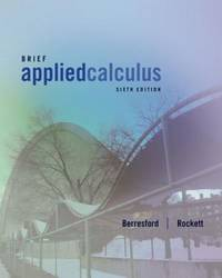 Brief Applied Calculus, 6th Edition - Instructor Copy