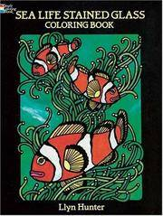 image of Sea Life Stained Glass Colouring Book