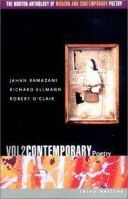 The Norton Anthology of Modern and Contemporary Poetry, Volume 2: Contemporary P