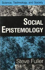 Social Epistemology by  Steve Fuller - Paperback - from Better World Books  (SKU: 13087913-6)