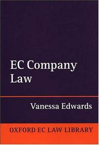 EC Company Law (Oxford European Union Law Library)