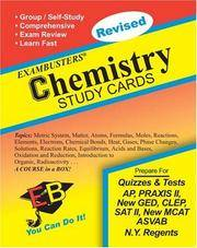 Ace's Chemistry Exambusters Study Cards (Ace's Exambusters)