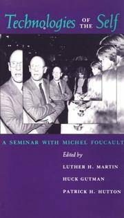image of Technologies of the Self: A Seminar with Michel Foucault