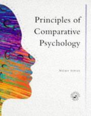 Principles Of Comparative Psychology