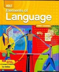 Elements of Language: Student Edition Grade 7 2009