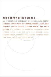 The Poetry of Our World: An International Anthology of Contemporary Poetry