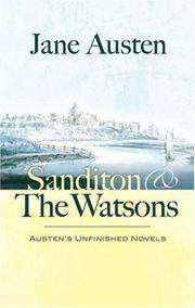 image of Sanditon and The Watsons: Austen's Unfinished Novels