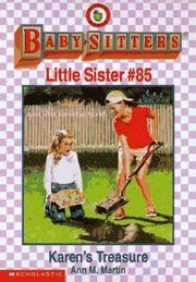image of Karen's Treasure (Baby-sitters Little Sister)