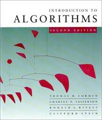 Introduction to Algorithms By Thomas H. Cormen by  Clifford  Ronald L.; Stein - Hardcover - 2001-09-01 - from GOTbooks (SKU: SKU0262032937)