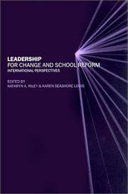 Leadership for Change and School Reform: International Perspectives (Educational Change & Development)