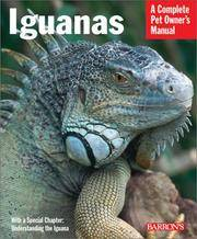 Iguanas (Barron's Complete Pet Owner's Manuals)