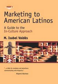 Marketing to American Latinos: A Guide to the In-Culture Approach. part 1