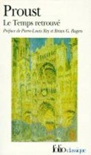Le Temps Retrouvé by Marcel Proust - Paperback - from Blackwell's Bookshop, Oxford and Biblio.com