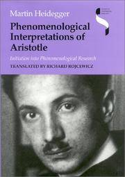 image of Phenomenological Interpretations of Aristotle: Initiation into Phenomenological Research