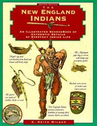New England Indians (Illustrated Living History Series)