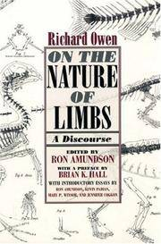 image of On the Nature of Limbs: A Discourse