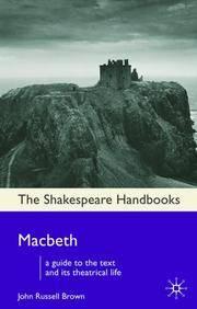 MACBETH (SHAKESPEARE HANDBOOKS)