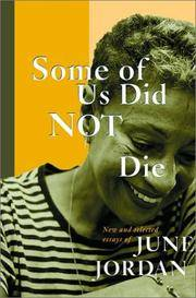 image of Some of Us Did Not Die: New and Selected Essays