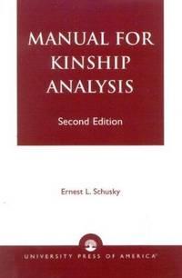 Manual for Kinship Analysis
