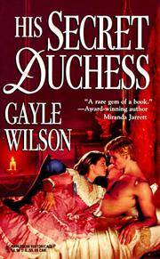 His Secret Duchess (Harlequin Historical Romances, No 393)