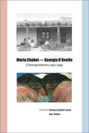 Maria Chabot - Georgia O'Keeffe: Correspondence, 1941-1949
