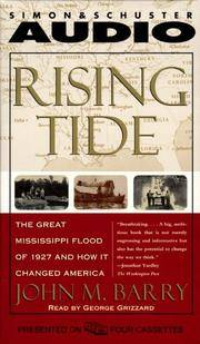 image of Rising Tide: The Great Mississippi Flood of 1927 and How It Changed America (an abridgement on 4 audio cassettes)