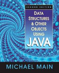 image of Data Structures and Other Objects Using Java (2nd Edition)