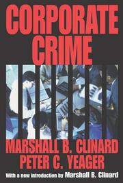 Corporate Crime (Law and Society)