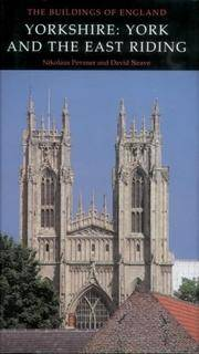Yorkshire: York and the East Riding