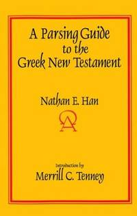Parsing Guide to Greek New Testament