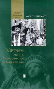 Vietnam and the Transformation of American Life (Problems in American History) Buzzanco, Robert