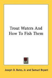 image of Trout Waters And How To Fish Them