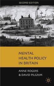 Mental Health Policy in Britain: A Critical Introduction