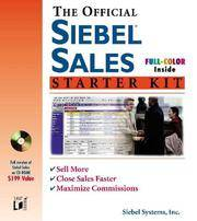 The Official Siebel Sales Starter Kit (Miscellaneous)