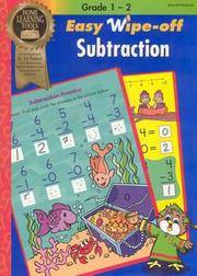 EASY WIPE-OFF SUBTRACTION Home Learning Tools
