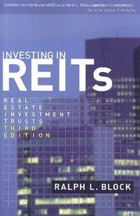 image of Investing in REITs: Real Estate Investment Trusts: Third Edition (Bloomberg)
