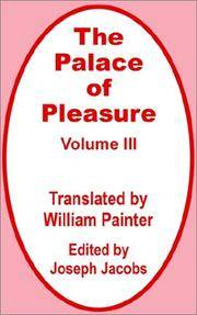 The Palace of Pleasure Volume Thee (III)