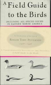 image of A Field Guide to the Birds: Commemorative Edition