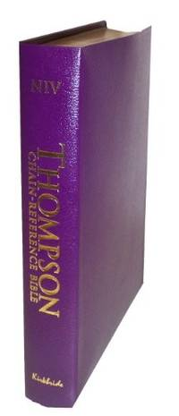 image of Thompson Chain Reference Bible (Style 809purple index) - Regular Size NIV - Bonded Leather
