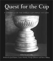 Quest for the Cup: A History of the Stanley Cup Finals, 1893-2001